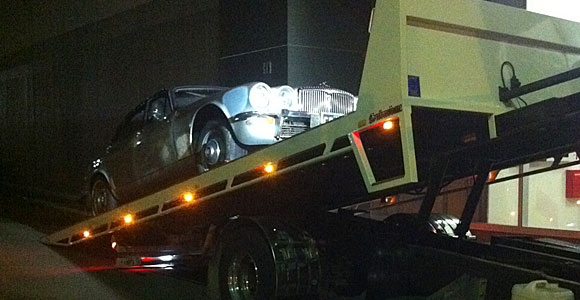 Jaguar Towing Sydney